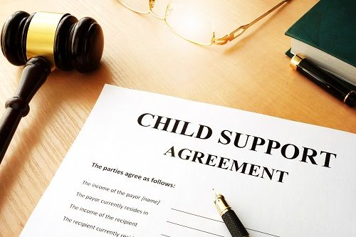 Establishing child support in the best interest of the family and child